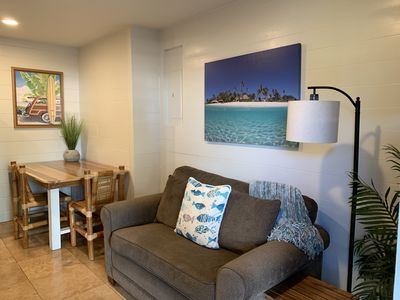 Newly renovated one-bedroom with A/C, Steps to Hukilau Beach, 30 Day