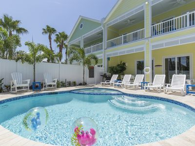 Photo for Brand New! Private pool and hot tub! 1/2 block from beach!