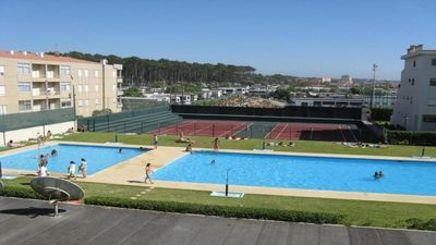 Photo for Apartment in beachfront with pool and tennis court
