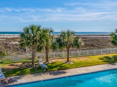 Photo for NEW LISTING! Gulf-front condo w/ shared pools & direct beach access!