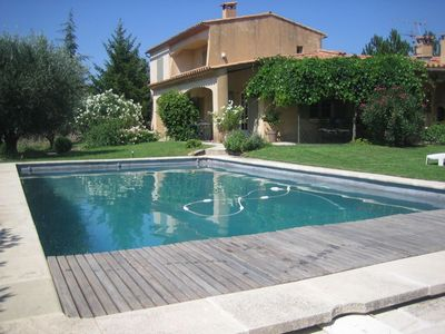 Photo for House 'Les Jasmins' with pool in the heart of Luberon