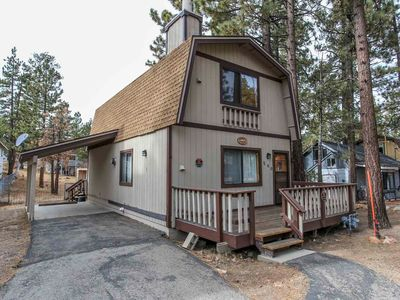 Photo for House 438 m from the center of Big Bear Lake with Parking (983724)