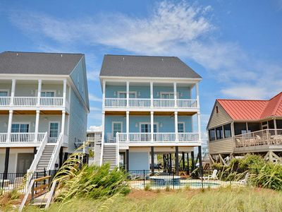 One Happy Place, Luxury Oceanfront House in Cherry Grove, Pool and Spa