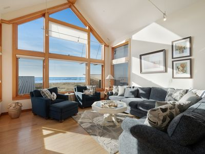 Photo for Oceanfront & view home on Cohasset Beach with ocean views and free WiFi!
