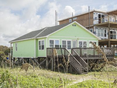 Photo for Barefoot Children: 3 Bed/2 Bath Bright and Airy Oceanfront Home