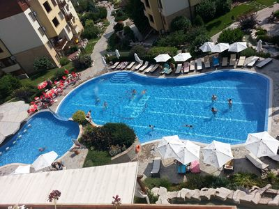 Photo for Panoramic Sea View, Shared Pool And Tennis Courts