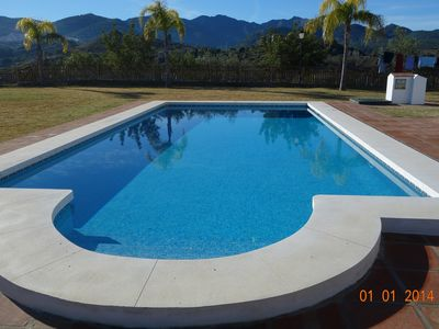 Photo for Finca, Villa, Large HEATED Private Pool fantastic views, secluded near Coin