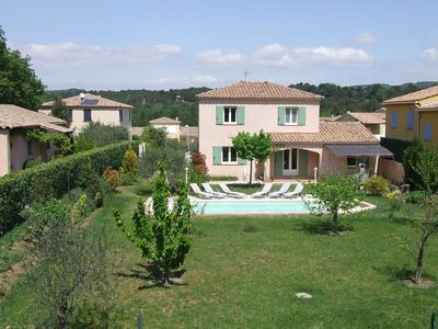 Photo for Villa in very quiet residential area with secure pool