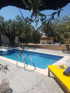 Photo for OLIVE SENSE VILLA  THE MOST RELAXING PLACE IN AFANDOU, RHODES. 450 METERS FROM THE BEACH