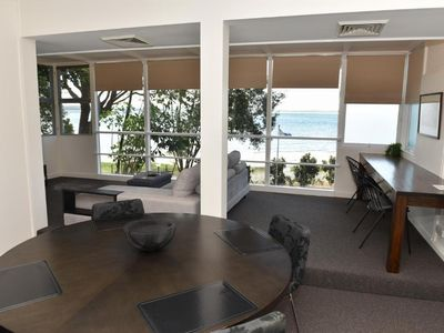 Photo for Dutchies Lodge Panoramic Water Views - Lodge with Full Kitchen, 2 Bedrooms with 1 Queen Bed, 1 Double Bed