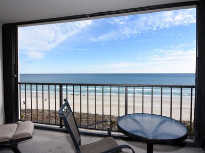 Photo for Station One - 6D DeWall-Oceanfront condo with community pool, tennis, beach