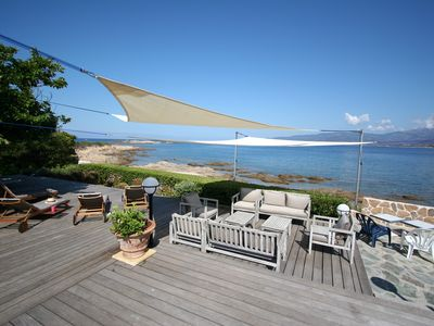 Photo for Luxury villa with access to the see
