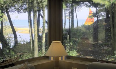 Photo for Stand alone cottage with sandy beach on Lake Michigan! World class golf nearby.