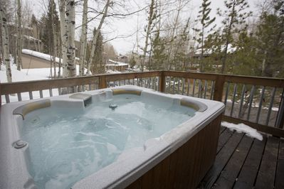 Enjoy your very own private hot tub!