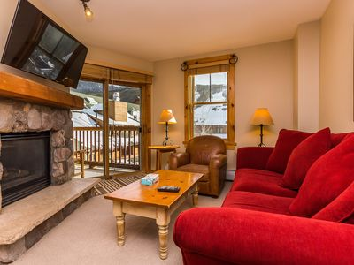 Photo for Slope Views, Updates Throughout, King Bed, Walk to Gondola, Free WIFI