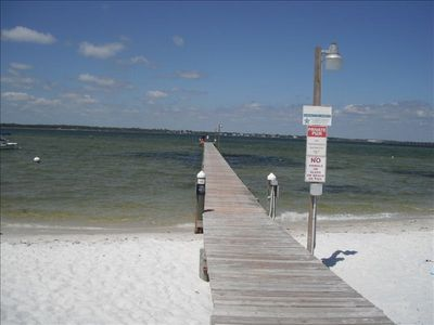Photo for Pensacola Beach Condo with a Great View! Free WiFi,Private beach and Pool.