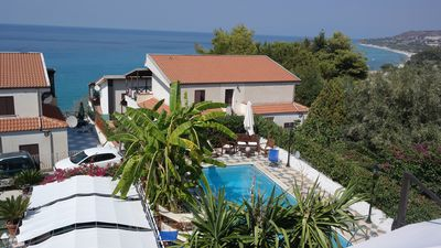 Photo for Villa Bordila (between the mountain and the sea with the pool as half way :)
