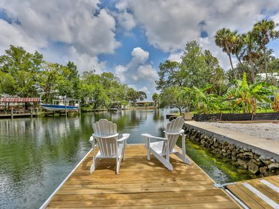 Photo for Waterfront Kings Bay, Swim in Springs off the boat dock - Kayaks incl.
