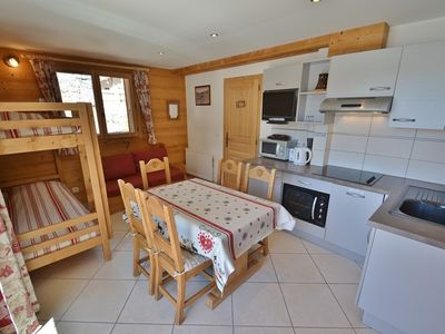 Photo for Ski-in ski-out apt for 4 only yards from the chairlifts!!