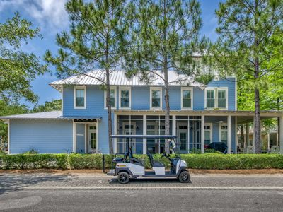 Photo for Coastal Chic 4 BR + Golf Cart w/ 3 King Bedrooms
