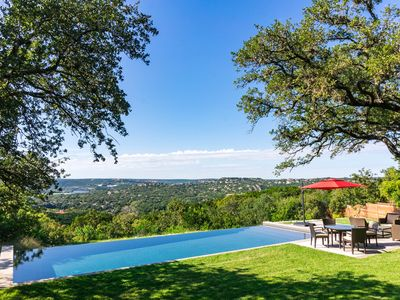 Photo for Spectacular View,  AIA Featured Home, Infinity Pool, 5 miles from downtown.