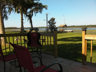 Photo for NEW!  Lakeshore Cottage - Enjoy Winter in Florida