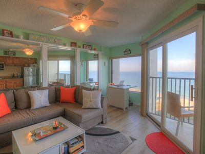Photo for Island Way Retreat Belleair Beach Club, a True Beachfront, 1BD Condo, Perfect for Couples and Small