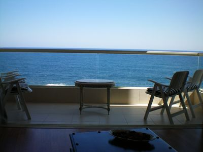 Photo for SeaFront Spacious Corner Apartment ideal location with unobstructed Sea Views