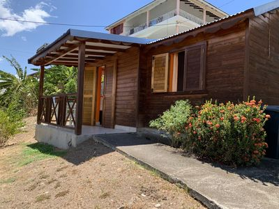 Photo for Bungalow in a quiet corner with sea view