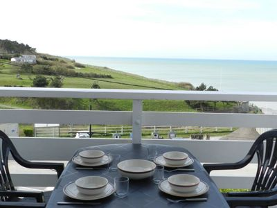 Photo for 2 bedroom Apartment, sleeps 4 in Mesnil-Val-Plage with WiFi