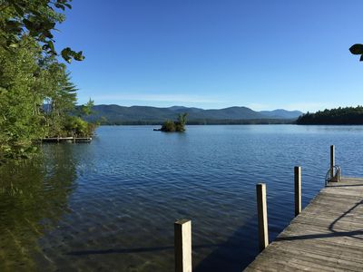 Photo for Enjoy Beautiful Squam Lake From This Charming Cabin , Setting For On Golden Pond
