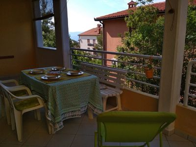 Photo for Family friendly apartment with 2 bedrooms, sea view