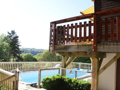 Photo for Holiday home with splendid view and private swimming pool.