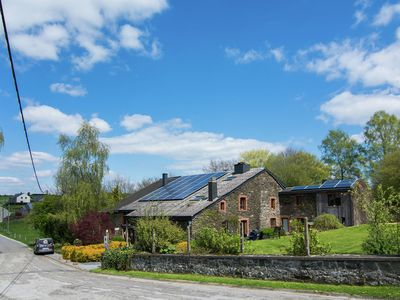 Photo for Combination of two cottages in a beautiful set close to Bouillon.
