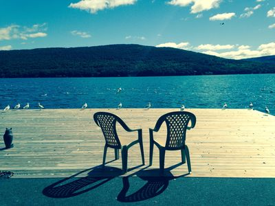 Photo for Canandaigua Lake Front Cliffside Condo: Bristol Harbour, Beach & Skiing!