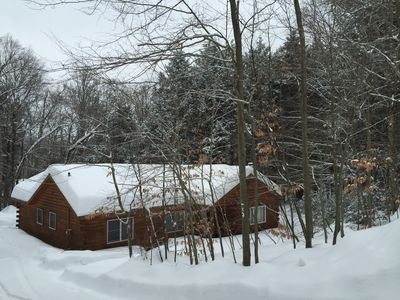 Photo for Log Home In The Heart Of Southern Vermont