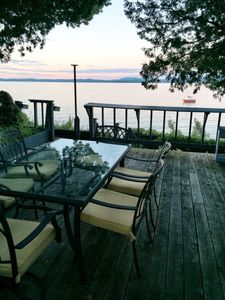 Photo for July 13-20 week available! Bluff Cottage - Private lakefront cottage