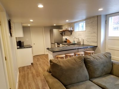 Photo for Newly Renovated Basement Apartment