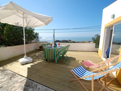 Photo for Villa Monte St António (Glade) -Sea views and private gardens close to the beach