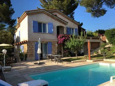 Photo for FLAT IN A VILLA CLOSE TO THE CENTER OF CANNES WITH POOL