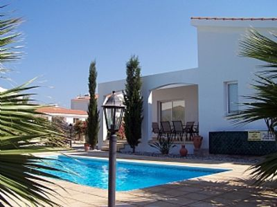 Photo for Single Storey Villa, Short Walk To  Beach, Private Pool, Wifi, Sat TV, Peaceful