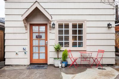 Adorable A-frame cottage in historic Irvington
