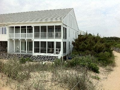 Photo for Ocean Front Townhome - Directly On The Beach