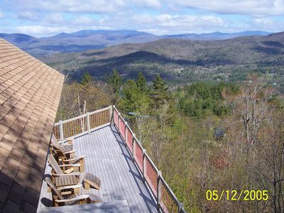 Photo for Spacious Mtn Top Contemporary - Spectacular Views - in Waterville Estates