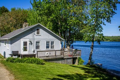 Fantastic Little Gray Cottage On The Lake Newcastle Home Remodeling Inspirations Cosmcuboardxyz