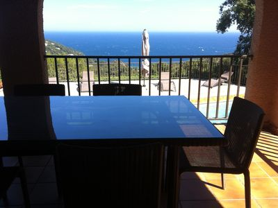 Photo for Villa 11 people, 5 bedrooms, pool, view, air conditioning, near St Tropez