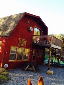 The Game room and Bunkhouse