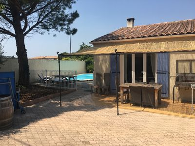Photo for Near Avignon, Provencal House With Swimming Pool, Coeur Des Vignes