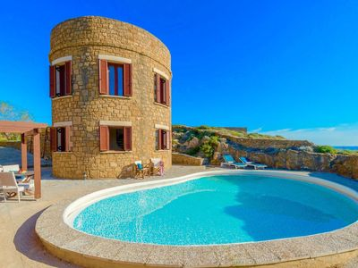 Photo for Wonderful private villa for 2 guests with A/C, private pool, WIFI, TV and parking