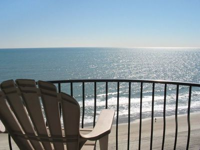 Enjoy the Ocean views from your balcony